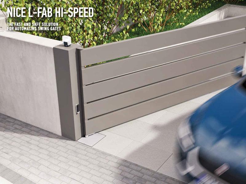 Nice L-FAB High Speed Autogate
